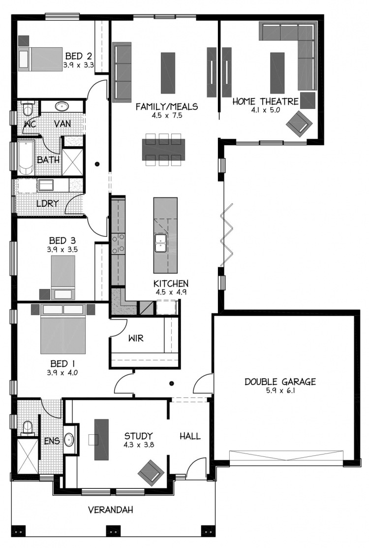 Rossdale Homes Aldgate Floor plans