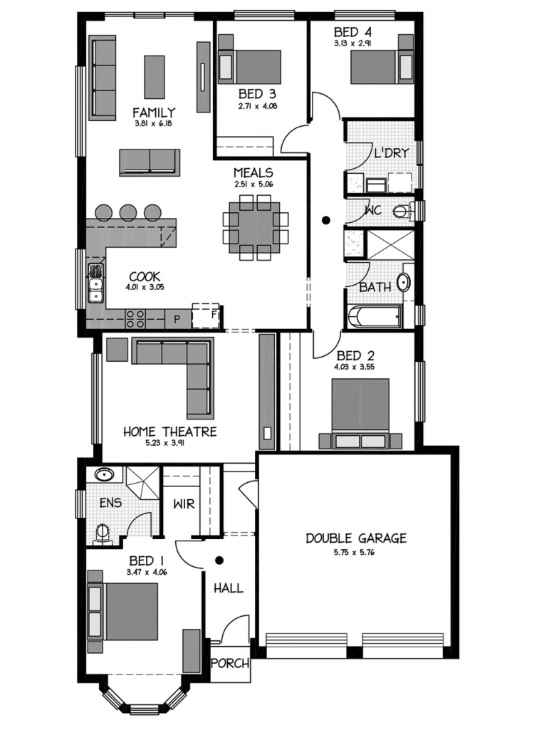 Rossdale Homes Angove Floor plan