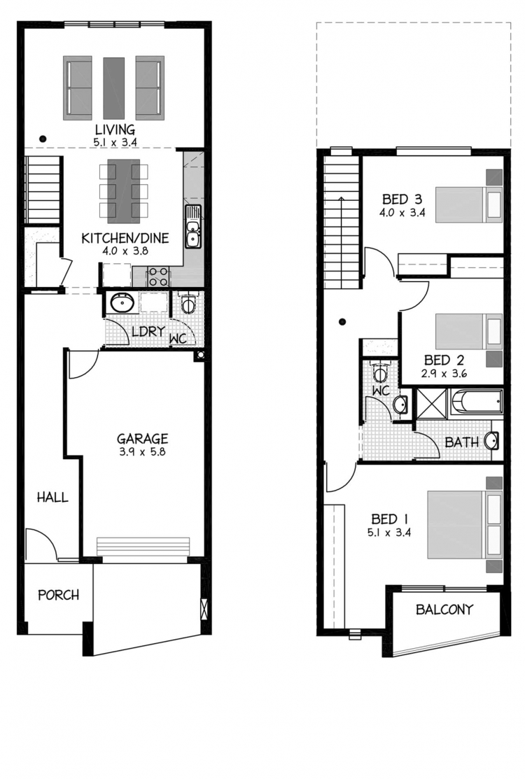 Rossdale Homes Atlanta Floor plan