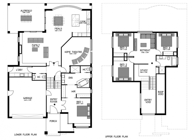 Rossdale Homes Bellevue Floor plan