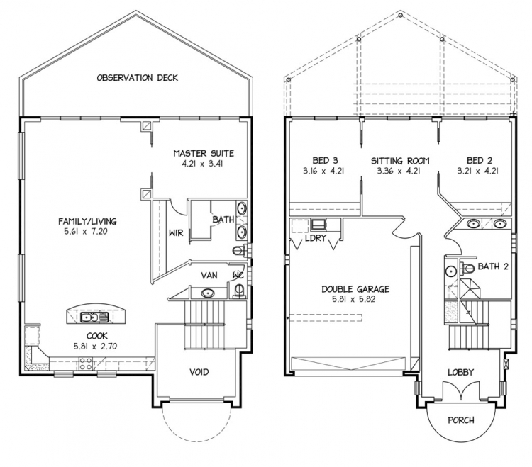 Rossdale Homes Boathouse Floor plan
