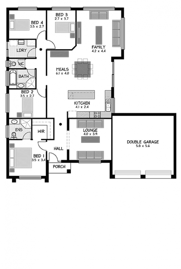 Rossdale Homes Chifley Floor plan