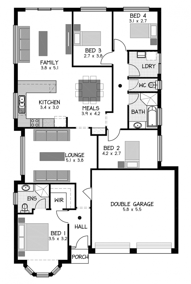Rossdale Homes Envoy Floor plan