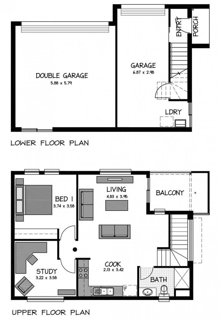 Rossdale Homes Fulham Mews Floor plans