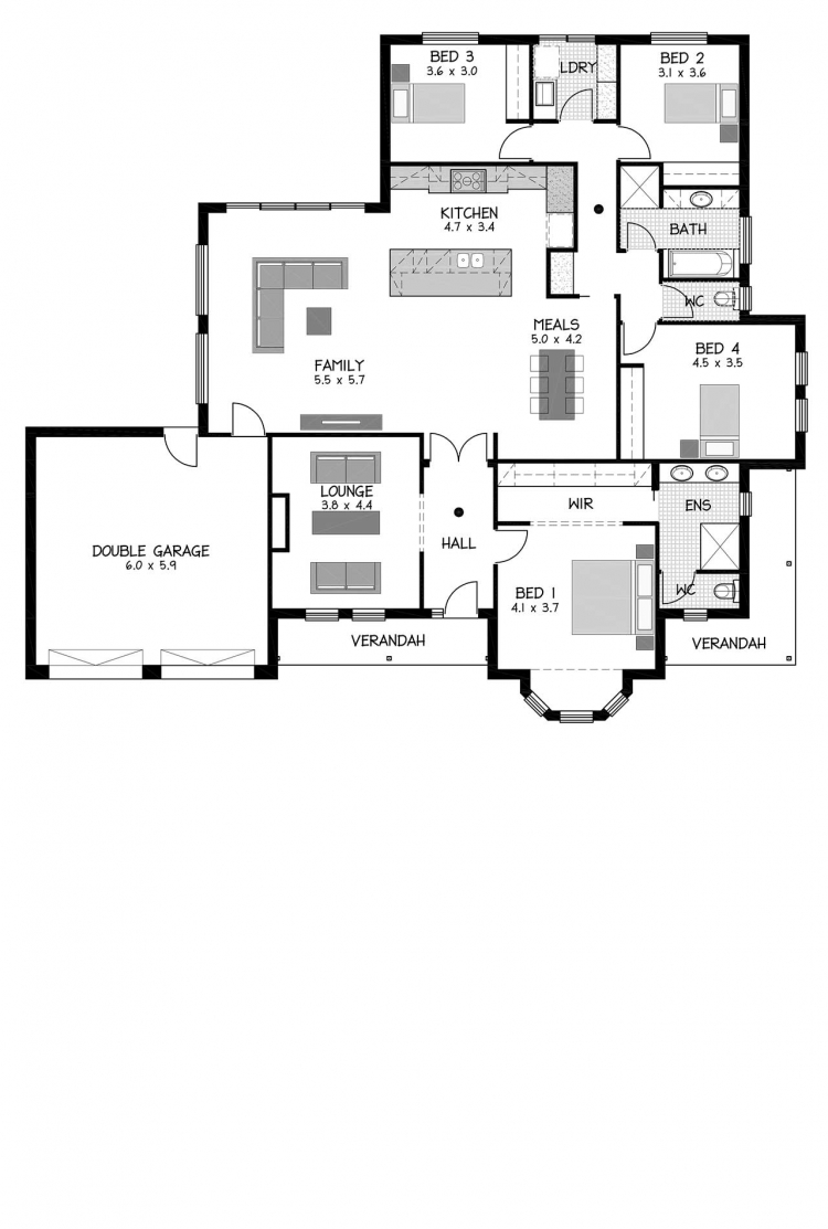 Rossdale Homes Morialta Floor plan