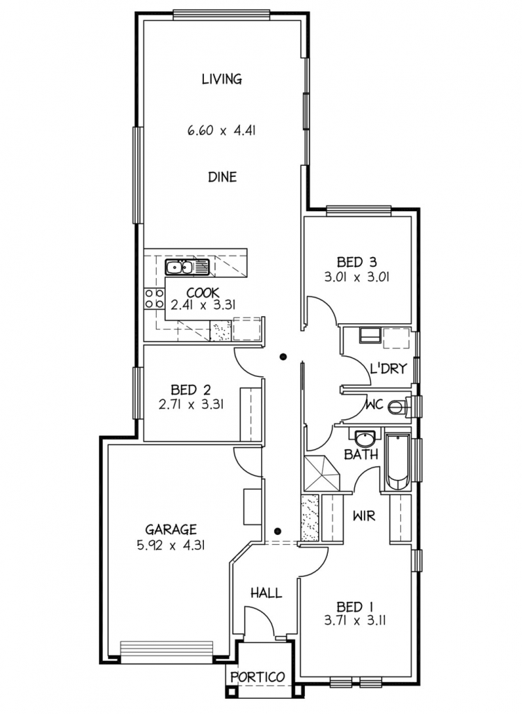 Rossdale Homes Tango Floor plan