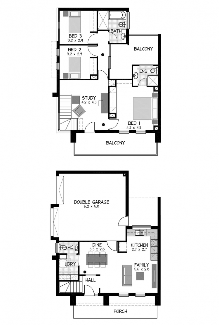 Rossdale Homes Tynte Floor plan
