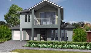 3d dwg reverse Tennyson 219 front elevation