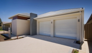 Rossdale Homes Seacombe 3 seaford front elevation garage side