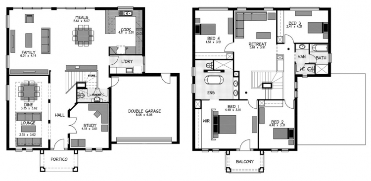 Rossdale Homes Bonython Floor plan