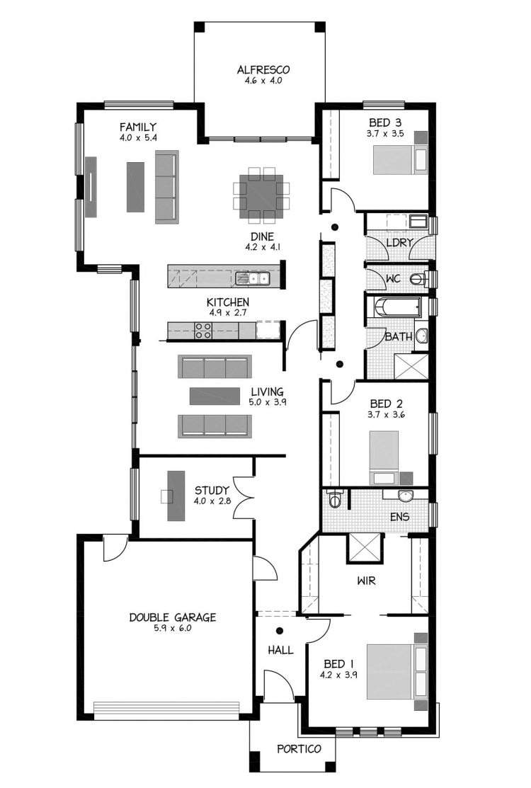 Rossdale Homes Clovelly Floor plan