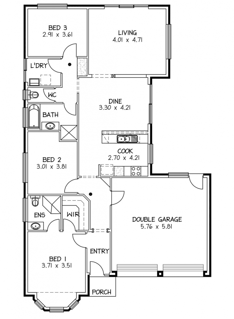 Rossdale Homes Henley Floor plan