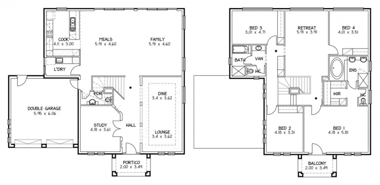 Rossdale Homes Heysen Floor plan