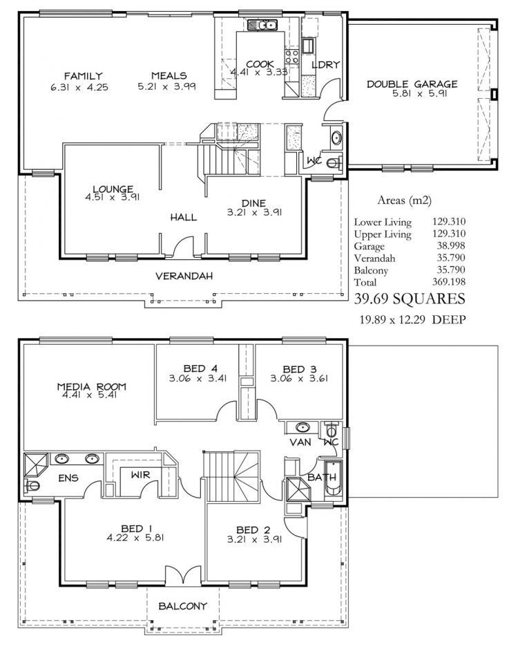 Rossdale Homes Madison Floor plans