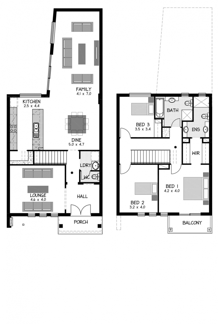 Rossdale Homes Sierra Floor plan