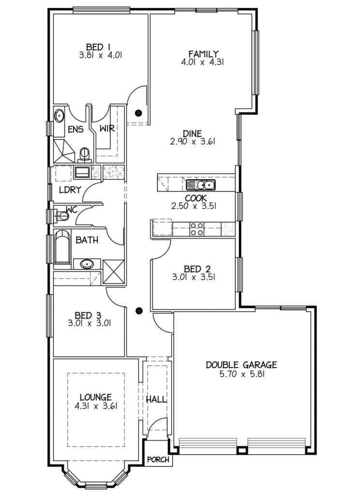 Rossdale Homes St George Floor plan