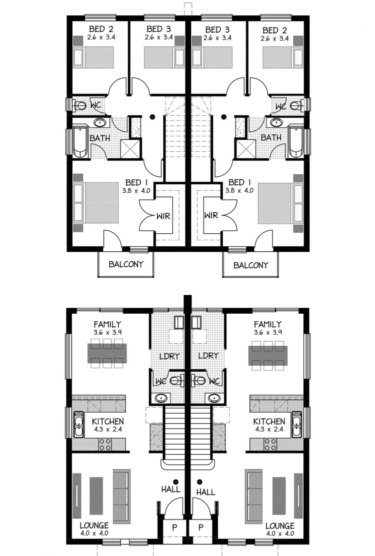 Rossdale Homes St Johns Row Floor plan
