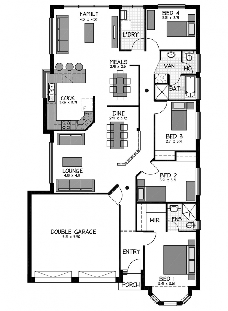 Rossdale Homes Statesman Floor plan