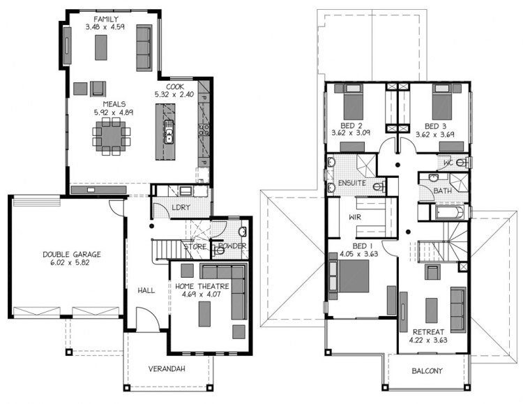 Rossdale Homes Tennyson Floor plan