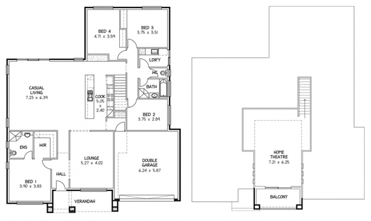 Rossdale Homes Waitpinga Floor plan