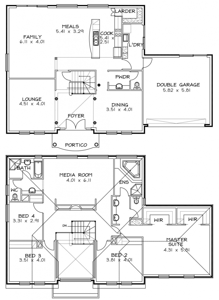 Rossdale Homes Wellington Floor plans