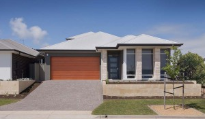Byron front elevation Byron Loft Double Storey Custom Home Builder Adelaide South Australia