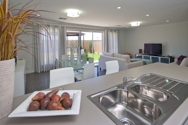 DSCF5666 kitchen Family Room Marden First Home Custom Home Builder Adelaide South Australia