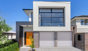 Broadway Front Elevation Garage  Double Storey Custom Home Builder Adelaide South Australia