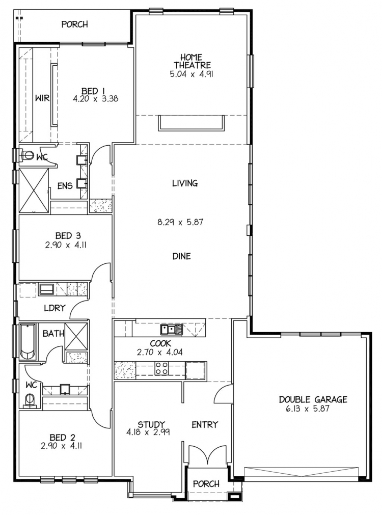 Rossdale Homes Shoalhaven Floor plan