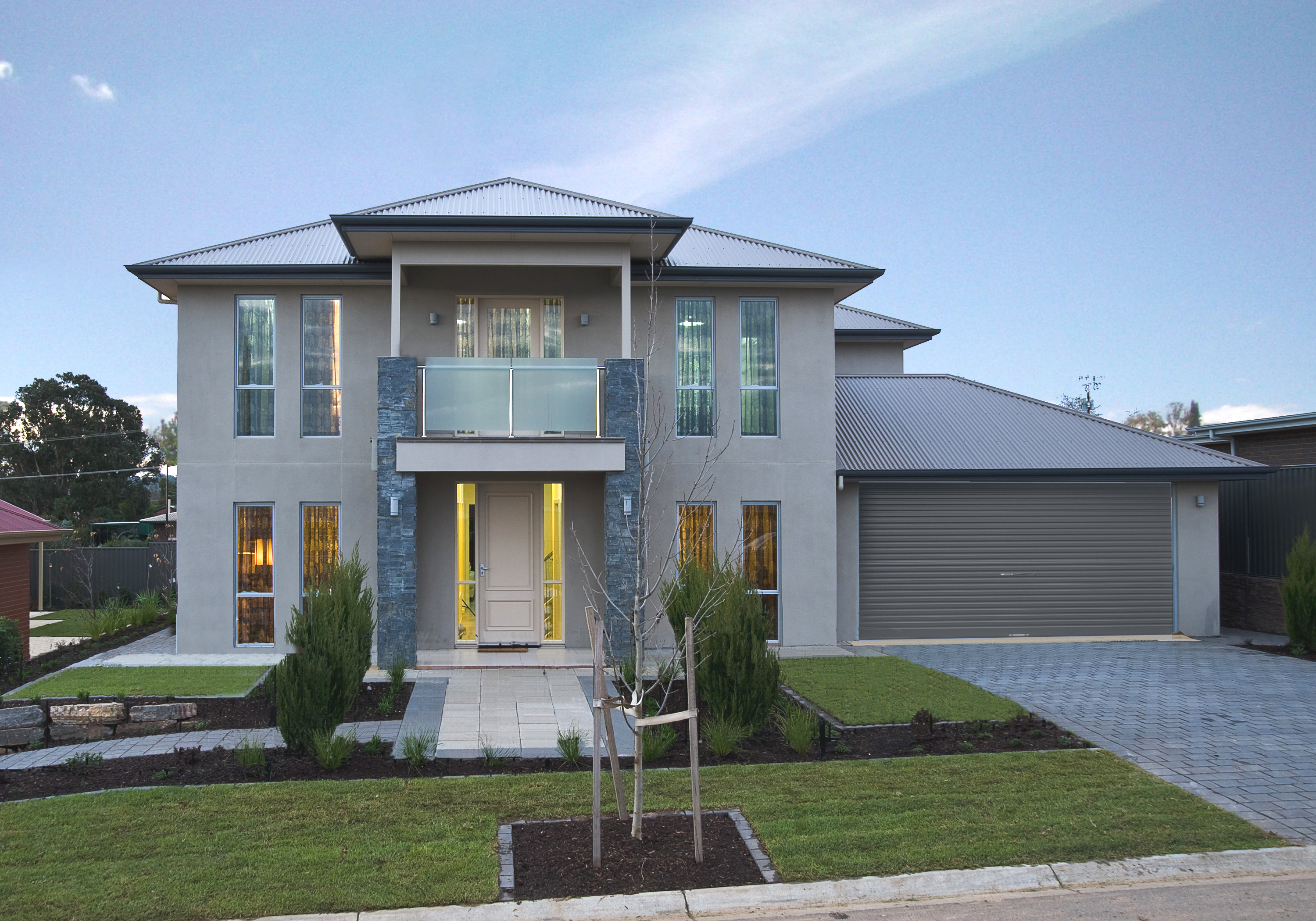 Two story home designs adelaide home review co for Home decorations adelaide